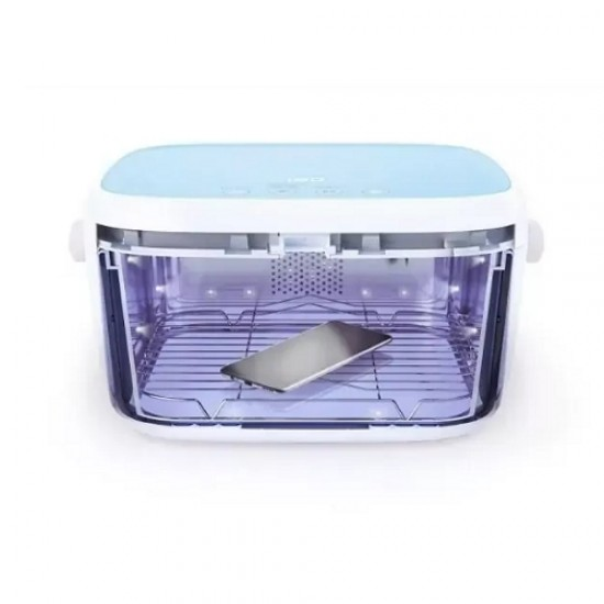59S UVC LED Multi-functional Milk Bottles Sterilization Box - Blue