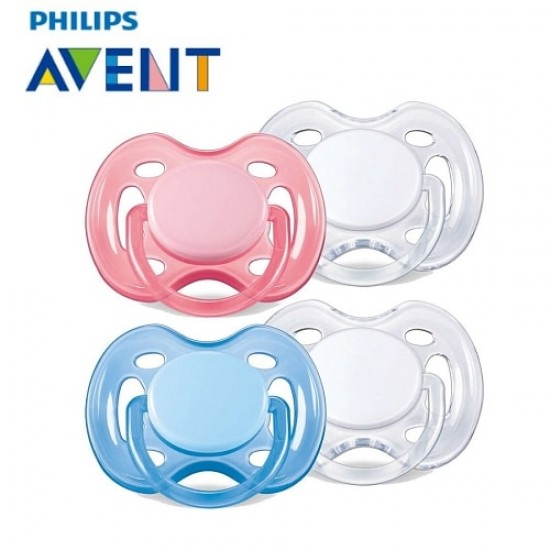 Avent 0-6 m Freeflow soothers