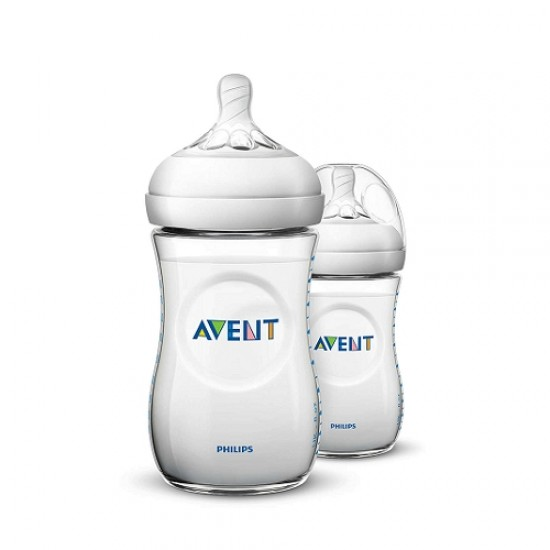 Philips Avent Natural Baby Bottle (PP)  - 260 ml x 2 pcs