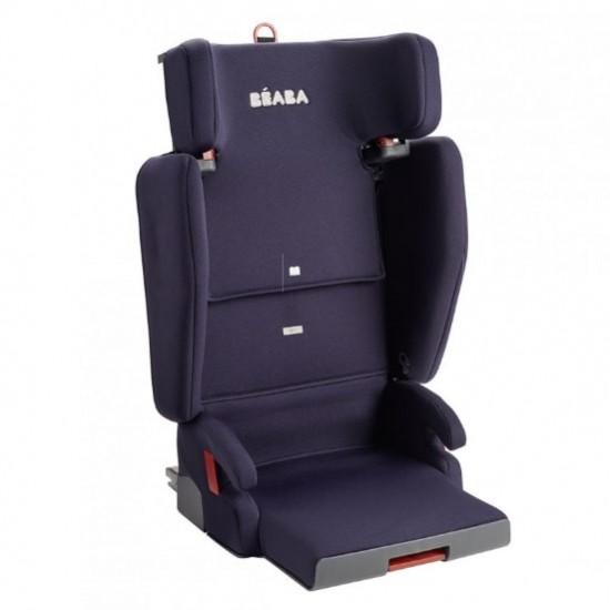 Beaba Purseat'Fix Group 2&3 Foldable Child Car Seat isofix - Navy Blue