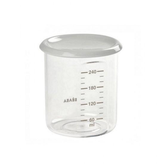 Beaba Maxi Portion 240 ml - Tritan Grey