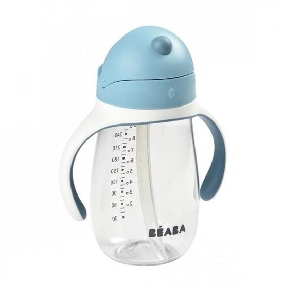 Beaba Straw Cup 300m - Blue