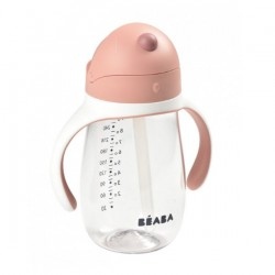 Beaba Straw Cup 300m - Pink