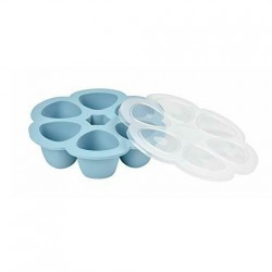 Beaba Silicone multiportions 6 x 90 ml - Blue