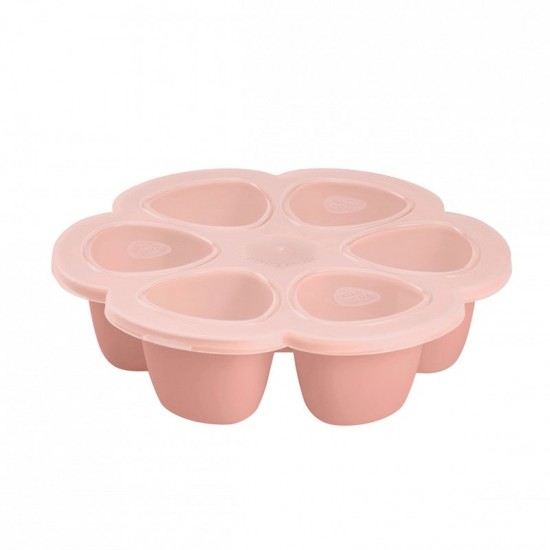Beaba Silicone multiportions 6 x 90 ml - Pink