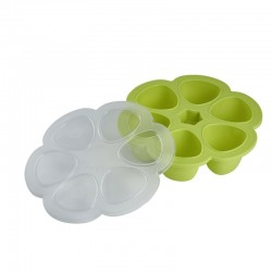 Beaba Silicone multiportions 6 x 90 ml - Neon