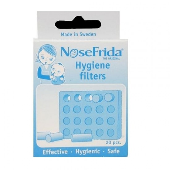 NoseFrida Hygiene Filters 20's