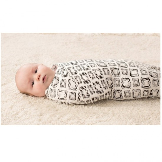 Aden+Anais Silky Soft Bamboo Swaddle 3pcs - In Motion