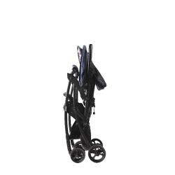 Aprica Magical Air Cushion Flat High Seat Stroller - Gray