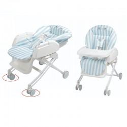 Aprica YuraLism STD High Low Bed & Chair - Strip BL