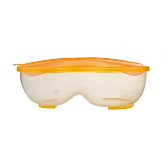 Babisil peanut-shaped baby food bowl