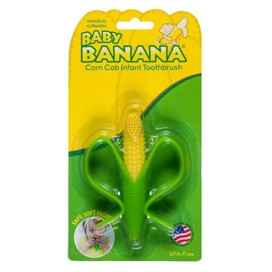 Baby Banana Corn Cob Infant Toothbrush
