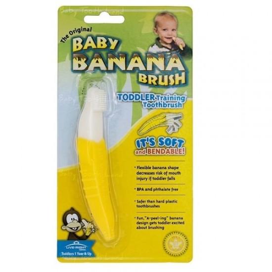 Baby Banana Toddler Toothbrush