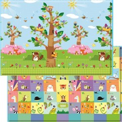Baby Care Playmat ( Small Size) - Birds in the trees (SP-MS-12001)