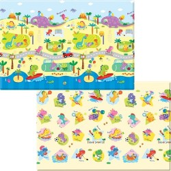 Baby Care Playmat ( Medium Size) - Dino Sport  (SP-M-12021)
