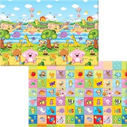 Baby Care Playmat ( Medium Size) - Pingko Friends  (SP-M-12001)