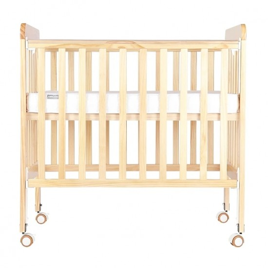 Baby Star Melio Baby Cot,  Natural - 38 x 22.8""
