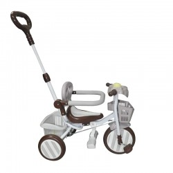 Baby Star Tricycle with Push Bar & Guard (non-foldable)