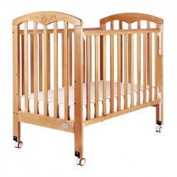 Baby Star Cozzi Baby Cot,  Natural - 43 x 26""