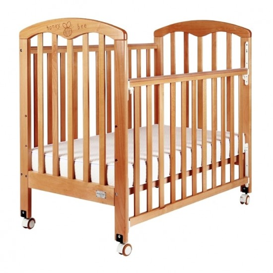 """Baby Star Cozzi Baby Cot,  Natural - 43 x 26"""""""