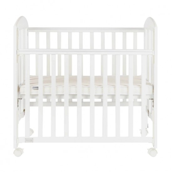 Baby Star Easi Foldable Baby Cot , White - 38 x 23""