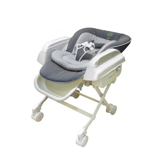 Baby Star Hi-Lo Swing High Chair - Grey
