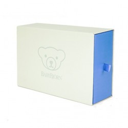 Babybjorn Baby Feeding Gift Set - Orange / Turquoise