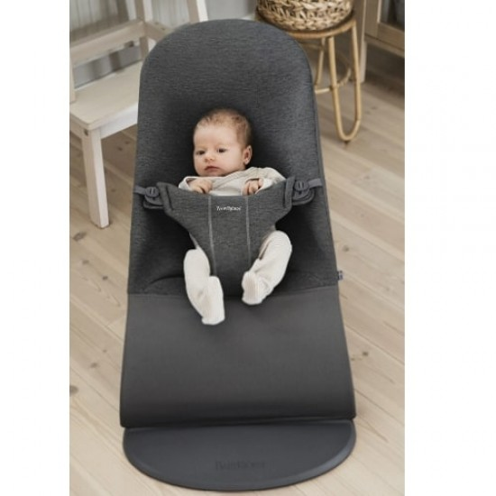 Babybjorn Bouncer Bliss 3D Jersey - Charcoal Grey
