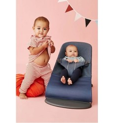 Babybjorn Bouncer Bliss 3D Jersey - Dove Blue