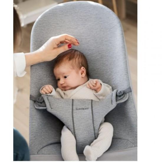 Babybjorn Bouncer Bliss 3D Jersey - Light Grey