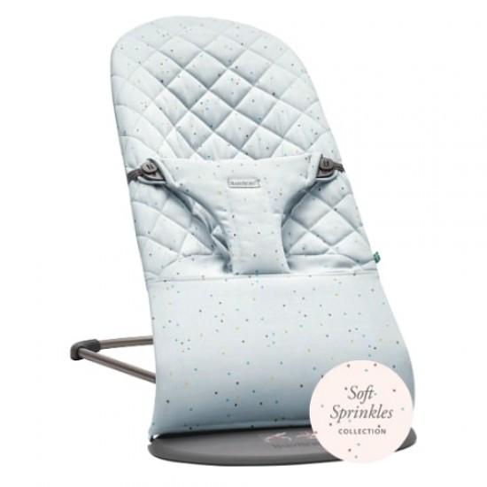 Babybjorn Bouncer Bliss Cotton - Blue / Sprinkles
