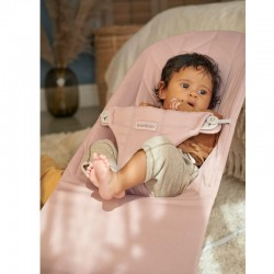 Babybjorn Bouncer Bliss Cotton - Old Rose Petal Quilt
