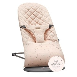 Babybjorn Bouncer Bliss Cotton - Pink / Sprinkles