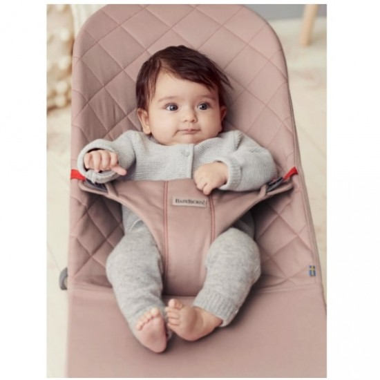 Babybjorn Bouncer Bliss Cotton - Old Rose