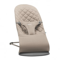 Babybjorn Bouncer Bliss Cotton - Sand Grey