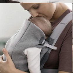 Babybjorn Carrier Mini - Light Grey 3D Jersey