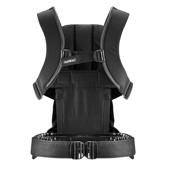 Babybjorn Carrier We - Black Cotton
