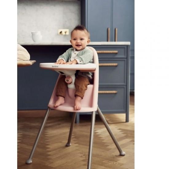 Babybjorn High Chair - Powder Pink / Grey