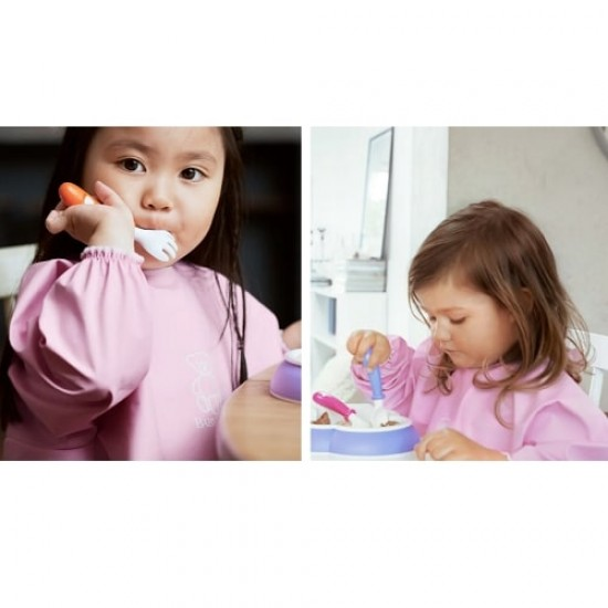 Babybjorn Long Sleeve Bib - Pink