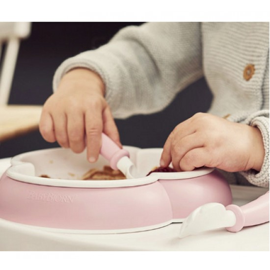 Babybjorn Baby Plate, Spoon and Fork , 2 sets