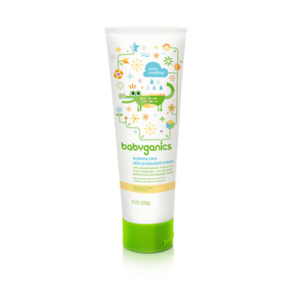 Babyganics Moisturizing Eczema Care Cream - 226 g