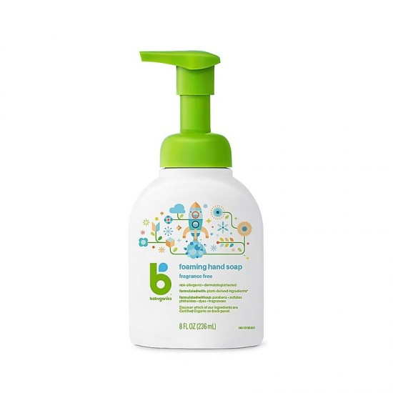 Babyganics Foaming Hand Soap - 236 ml