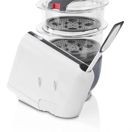 Babymoov Nutribaby+ Food Steamer and Blender - Loft White