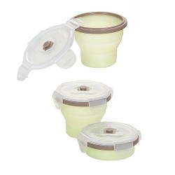 Babymoov Silicone Container Set - 3 x 240ml