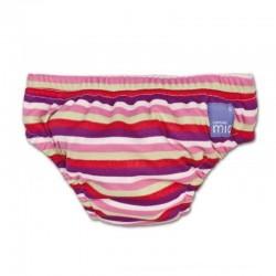 bambino Mio Swim Nappy - Pink Stripe (12-15 kg)