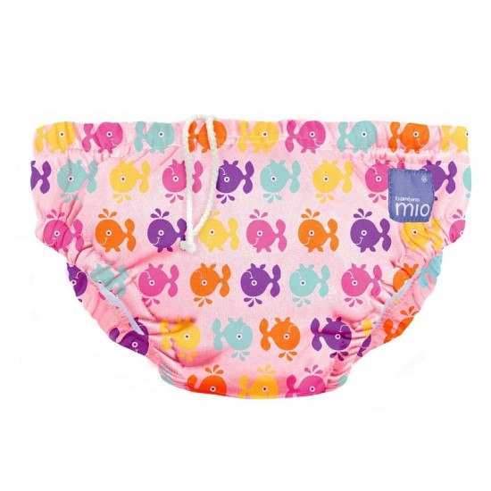 bambino Mio Swim Nappy - Pink Whale (12-15 kg)