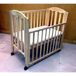 """Baron Puppy Foldable Baby Cot, Natural - 38.5 x 23.5"""""""