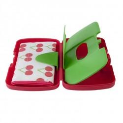 B.Box Essential diaper wallet - Cherry Delight
