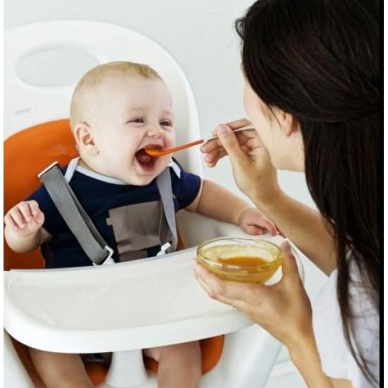 Boon Swap 2-In-1 Feeding Spoon Blue/Orange