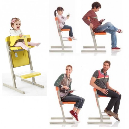 Brevi Slex Evo high chair